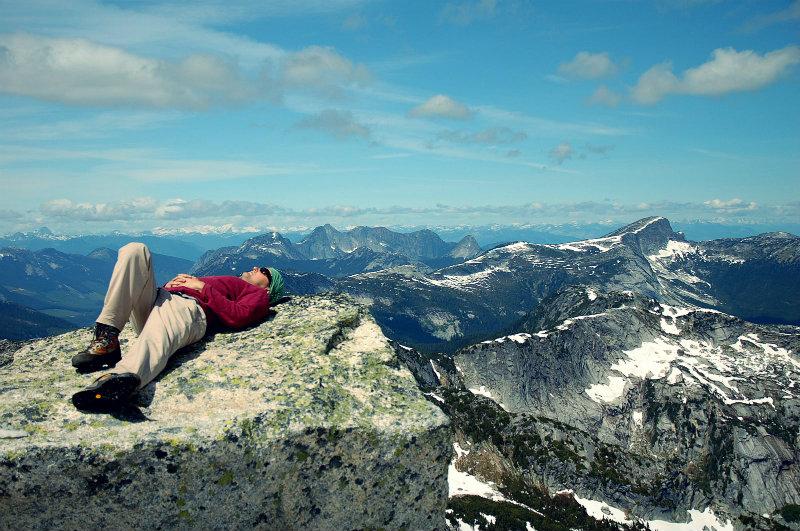 zirveye tırmanmak