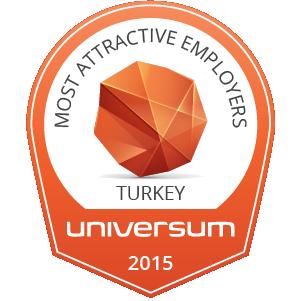 Turkey Ideal Employer Badge 2015