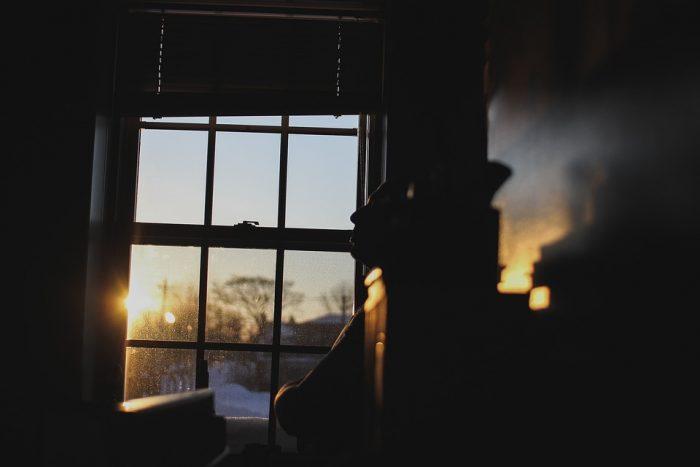 pencere önündeki hayat