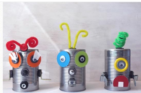 Atıktan Robot Tasarım Atölyesi