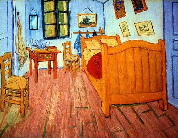 Van Gogh Karanlık Bir Hayattan Güneşli Ayçiçeklerine Ve Parlak Yıldızlara